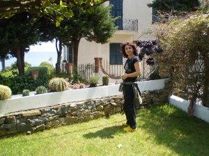porto maurizio giardino vista mare